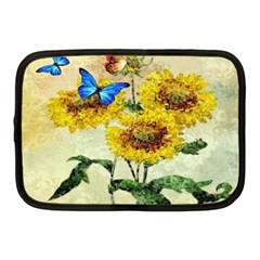 Backdrop Colorful Butterfly Netbook Case (Medium)
