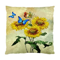 Backdrop Colorful Butterfly Standard Cushion Case (Two Sides)