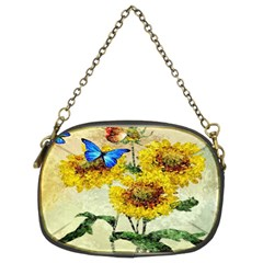Backdrop Colorful Butterfly Chain Purses (Two Sides)