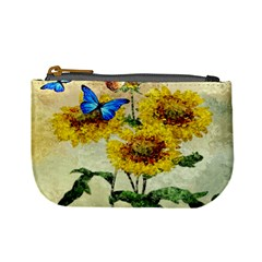Backdrop Colorful Butterfly Mini Coin Purses