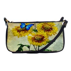 Backdrop Colorful Butterfly Shoulder Clutch Bags
