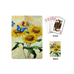 Backdrop Colorful Butterfly Playing Cards (Mini)