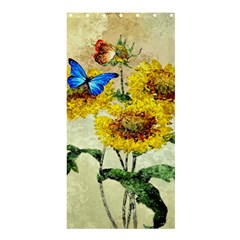 Backdrop Colorful Butterfly Shower Curtain 36  x 72  (Stall)