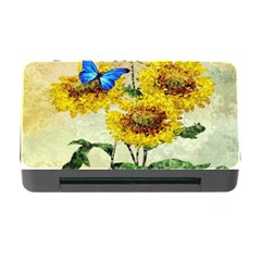 Backdrop Colorful Butterfly Memory Card Reader With Cf