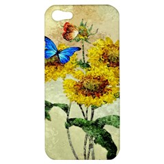 Backdrop Colorful Butterfly Apple iPhone 5 Hardshell Case