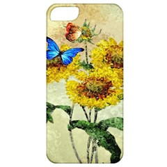 Backdrop Colorful Butterfly Apple iPhone 5 Classic Hardshell Case