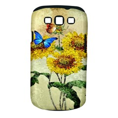 Backdrop Colorful Butterfly Samsung Galaxy S III Classic Hardshell Case (PC+Silicone)