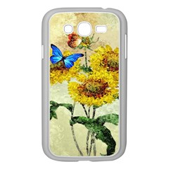 Backdrop Colorful Butterfly Samsung Galaxy Grand Duos I9082 Case (white)