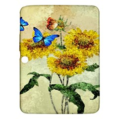Backdrop Colorful Butterfly Samsung Galaxy Tab 3 (10 1 ) P5200 Hardshell Case