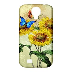 Backdrop Colorful Butterfly Samsung Galaxy S4 Classic Hardshell Case (pc+silicone)