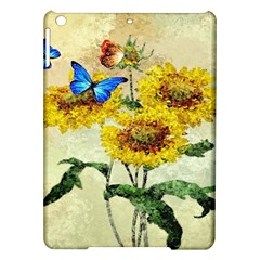 Backdrop Colorful Butterfly Ipad Air Hardshell Cases