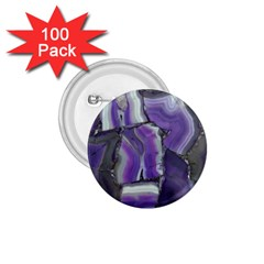 Purple Agate Natural 1 75  Buttons (100 Pack)