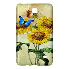 Backdrop Colorful Butterfly Samsung Galaxy Tab 4 (7 ) Hardshell Case