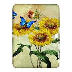 Backdrop Colorful Butterfly Samsung Galaxy Tab 4 (10 1 ) Hardshell Case