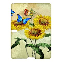 Backdrop Colorful Butterfly Samsung Galaxy Tab S (10.5 ) Hardshell Case
