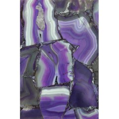 Purple Agate Natural 5 5  X 8 5  Notebooks