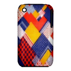 Background Fabric Multicolored Patterns iPhone 3S/3GS