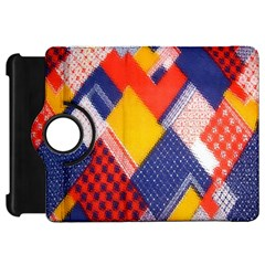 Background Fabric Multicolored Patterns Kindle Fire HD 7