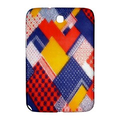 Background Fabric Multicolored Patterns Samsung Galaxy Note 8.0 N5100 Hardshell Case
