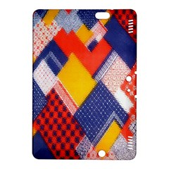 Background Fabric Multicolored Patterns Kindle Fire HDX 8.9  Hardshell Case