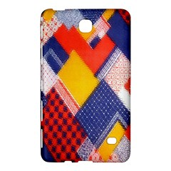 Background Fabric Multicolored Patterns Samsung Galaxy Tab 4 (7 ) Hardshell Case