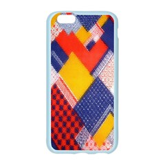 Background Fabric Multicolored Patterns Apple Seamless iPhone 6/6S Case (Color)