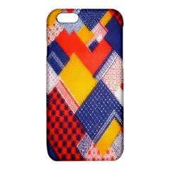 Background Fabric Multicolored Patterns iPhone 6/6S TPU Case