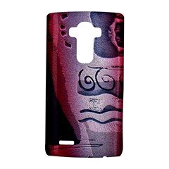 Background Fabric Patterned Blue White And Red LG G4 Hardshell Case