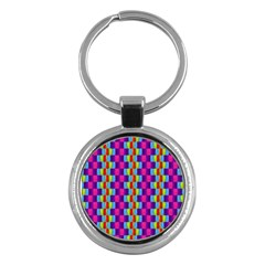 Background For Scrapbooking Or Other Patterned Wood Key Chains (Round)
