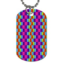 Background For Scrapbooking Or Other Patterned Wood Dog Tag (One Side)