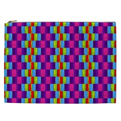 Background For Scrapbooking Or Other Patterned Wood Cosmetic Bag (xxl)