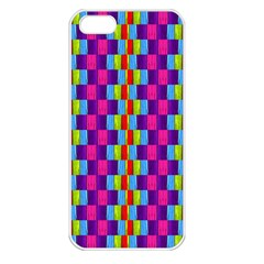 Background For Scrapbooking Or Other Patterned Wood Apple iPhone 5 Seamless Case (White)