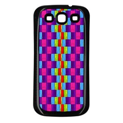 Background For Scrapbooking Or Other Patterned Wood Samsung Galaxy S3 Back Case (Black)