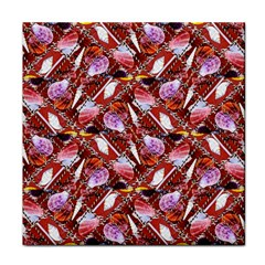 Background For Scrapbooking Or Other Shellfish Grounds Tile Coasters
