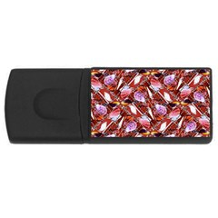 Background For Scrapbooking Or Other Shellfish Grounds USB Flash Drive Rectangular (2 GB)