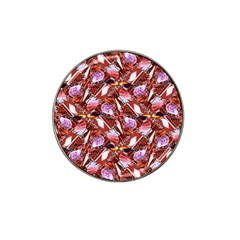Background For Scrapbooking Or Other Shellfish Grounds Hat Clip Ball Marker (4 pack)
