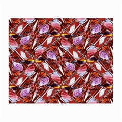 Background For Scrapbooking Or Other Shellfish Grounds Small Glasses Cloth (2 Side)