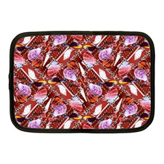 Background For Scrapbooking Or Other Shellfish Grounds Netbook Case (Medium)