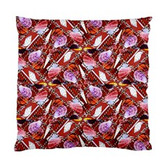 Background For Scrapbooking Or Other Shellfish Grounds Standard Cushion Case (Two Sides)