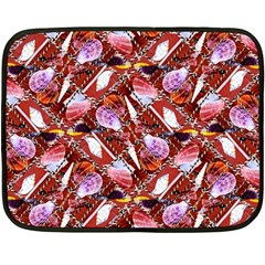 Background For Scrapbooking Or Other Shellfish Grounds Double Sided Fleece Blanket (Mini)