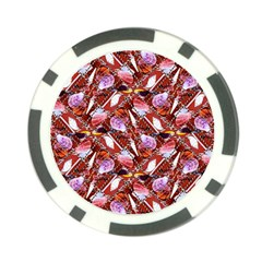 Background For Scrapbooking Or Other Shellfish Grounds Poker Chip Card Guard (10 pack)