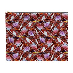 Background For Scrapbooking Or Other Shellfish Grounds Cosmetic Bag (XL)
