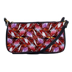 Background For Scrapbooking Or Other Shellfish Grounds Shoulder Clutch Bags
