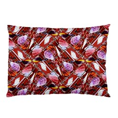 Background For Scrapbooking Or Other Shellfish Grounds Pillow Case (Two Sides)