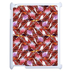 Background For Scrapbooking Or Other Shellfish Grounds Apple Ipad 2 Case (white)