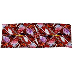 Background For Scrapbooking Or Other Shellfish Grounds Body Pillow Case Dakimakura (two Sides)