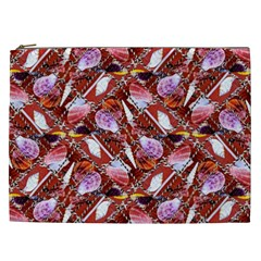 Background For Scrapbooking Or Other Shellfish Grounds Cosmetic Bag (XXL)