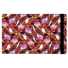 Background For Scrapbooking Or Other Shellfish Grounds Apple iPad 2 Flip Case