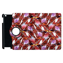 Background For Scrapbooking Or Other Shellfish Grounds Apple iPad 2 Flip 360 Case