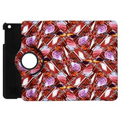 Background For Scrapbooking Or Other Shellfish Grounds Apple Ipad Mini Flip 360 Case